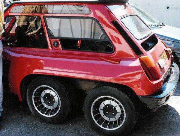 R5 turbo 6x6 des renault anciennes pas comme les autres for Renault super 5 interieur